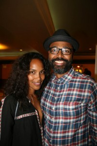 Mara Brock Akil and Salim Akil