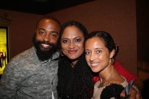 Middle of Nowhere cinematographer Bradford Young, director Ava DuVernay, and Urbanworld executive producer and head of programming Gabrielle Glore