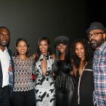 Richard Brooks, Essence's Cori Murray, Gabrielle Union, Tika Sumpter, Mara Brock Akil, and Salim Akil