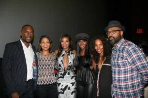 Richard Brooks, Essence&#039;s Cori Murray, Gabrielle Union, Tika Sumpter, Mara Brock Akil, and Salim Akil