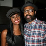 Tika Sumpter and Salim Akil