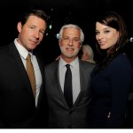 Alex Cross afterparty - Ed Burns, Lionsgate co-chairman Rob Friedman, and Rachel Nichols