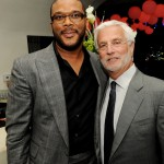 Alex Cross afterparty - Tyler Perry and Lionsgate co-chairmen Rob Friedman