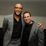 Alex Cross afterparty - Tyler Perry and producer Randall Emmett