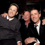 Alex Cross afterparty - writer Marc Moss, director Rob Cohen, and Matthew Fox
