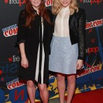 Carrie NYCC Julianne Moore and Chloe Moretz