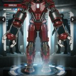 Iron Man 3 Mark XXXV Red Snapper
