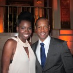 Steel Magnolias Premiere Afterparty - Adepero Oduye and Tory Kittles