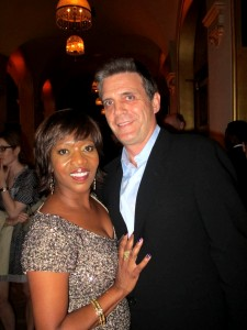 Steel Magnolias Premiere Afterparty - Alfre Woodard and Roderick Spencer