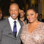 Steel Magnolias Premiere Afterparty - Tory Kittles and Jill Scott