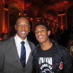 Steel Magnolias Premiere Afterparty - Tory Kittles and Justin Martin