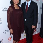 Steel Magnolias Premiere - Phylicia Rashad and Executive VP of programming, Lifetime Networks Rob Sharenow