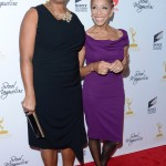 Steel Magnolias Premiere - Queen Latifah and her mom, Rita Owens
