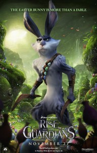 Rise of the Guardians The Easter Bunny poster
