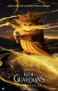 Rise of the Guardians The Sandman poster