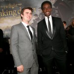 TTSBDP2 Premiere - Cameron Bright and Edi Gathegi