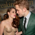 TTSBDP2 Premiere - Kristen Stewart and Robert Pattinson 3