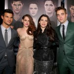 TTSBDP2 Premiere - Taylor Lautner, Kristen Stewart, Stephanie Meyer, Robert Pattinson 2