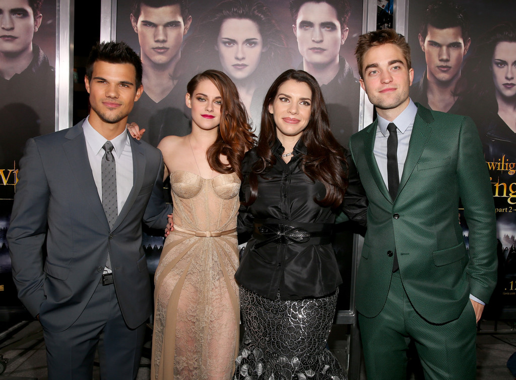... - Taylor Lautner, Kristen Stewart, Stephanie Meyer, Robert Pattinson