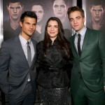 TTSBDP2 Premiere - Taylor Lautner, Stephanie Meyer, Robert Pattinson