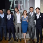 Zero Dark Thirty - Producer Megan Ellison, actors Kyle Chandler and Edgar Ramirez, producer and screenwriter Mark Boal, and actors Jessica Chastain, Jason Clarke, Mark Duplass and Harold Perrineau
