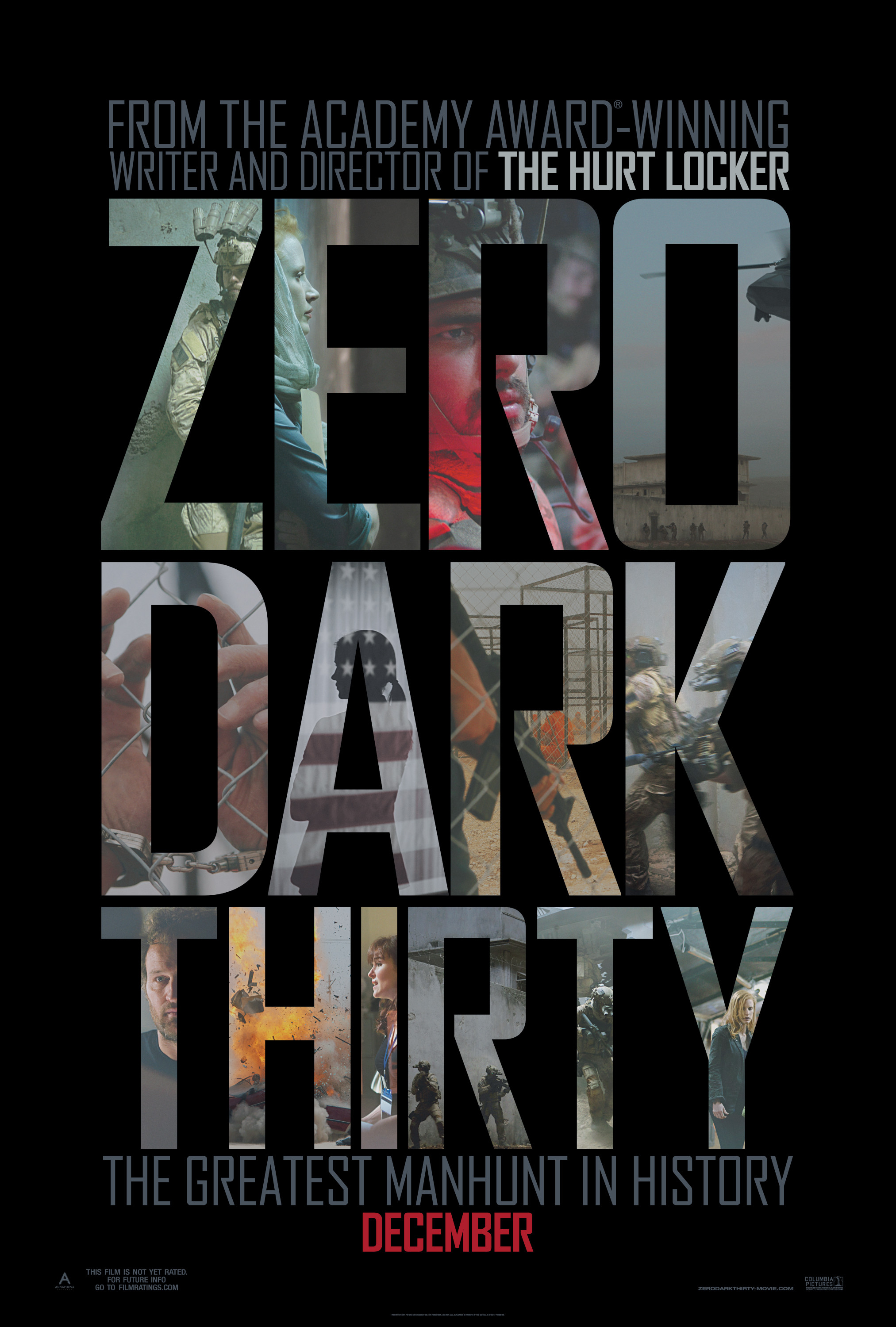 Zero Dark Thirty poster 3 - blackfilm.com/read | blackfilm ...