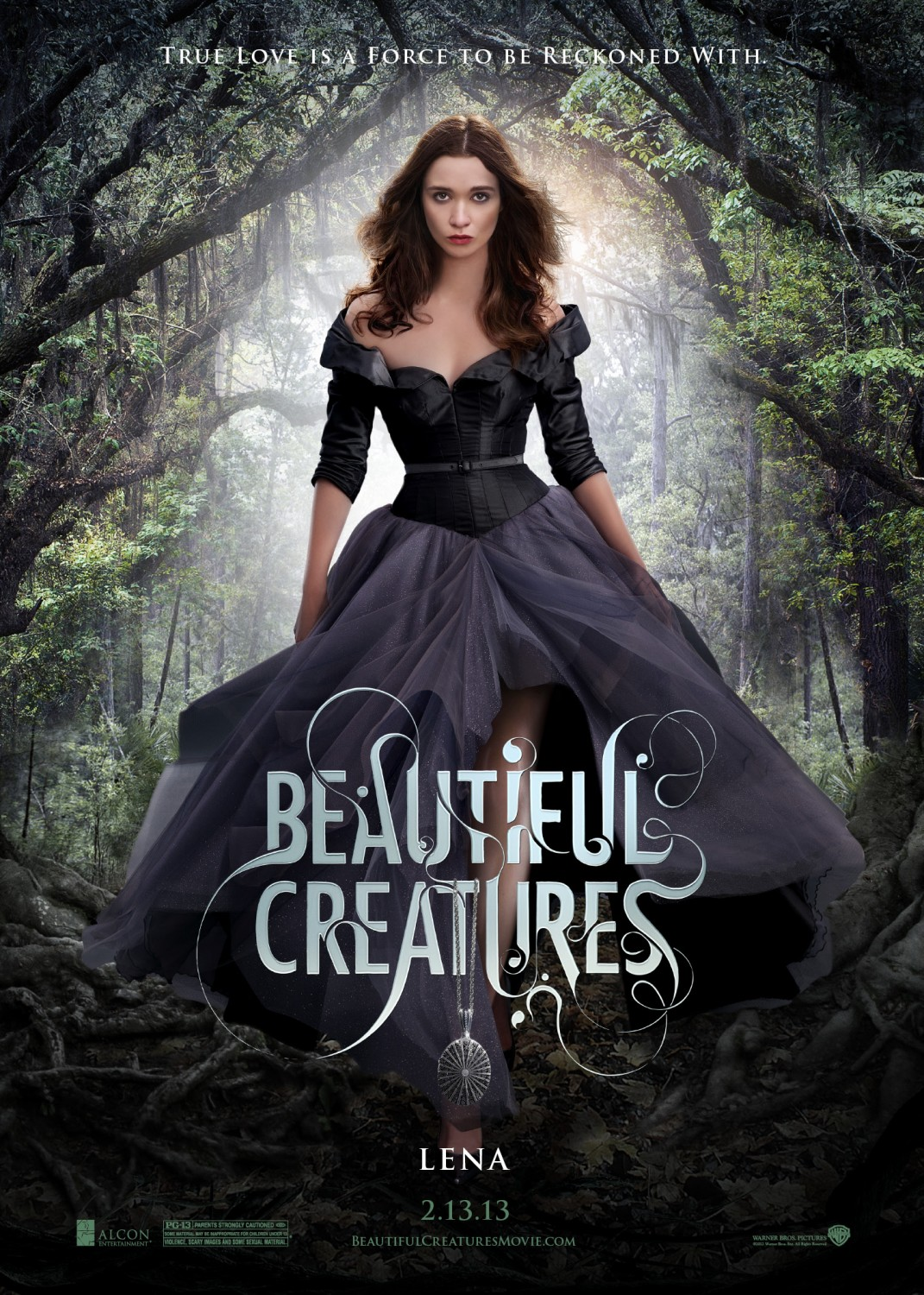 Beautiful Creatures Poster Alice Englert Blackfilm Read