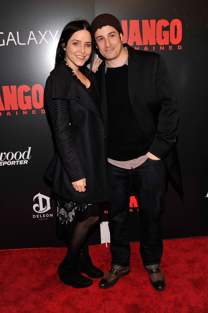 Jason Biggs with sympathetic, Wife Jenny Mollen