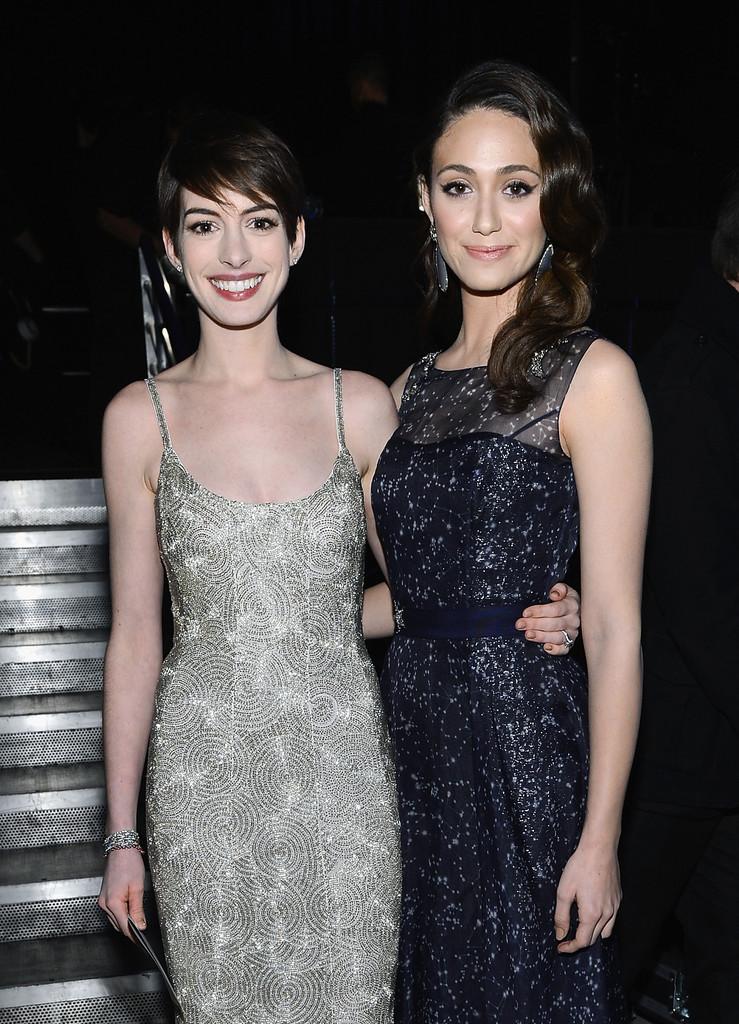 CCMA  Anne  Hathaway And  Emmy  Rossum