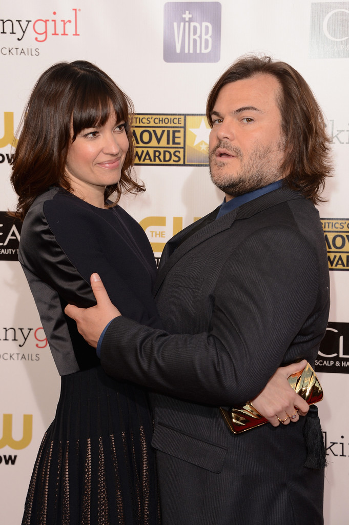 CCMA 2013 - Jack Black and  Jack Black Wife 2013