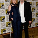 Jena Malone and Francis Lawrence - SDCC2013 1