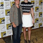 Josh Hutcherson and Jennifer Lawrence - SDCC2013 1