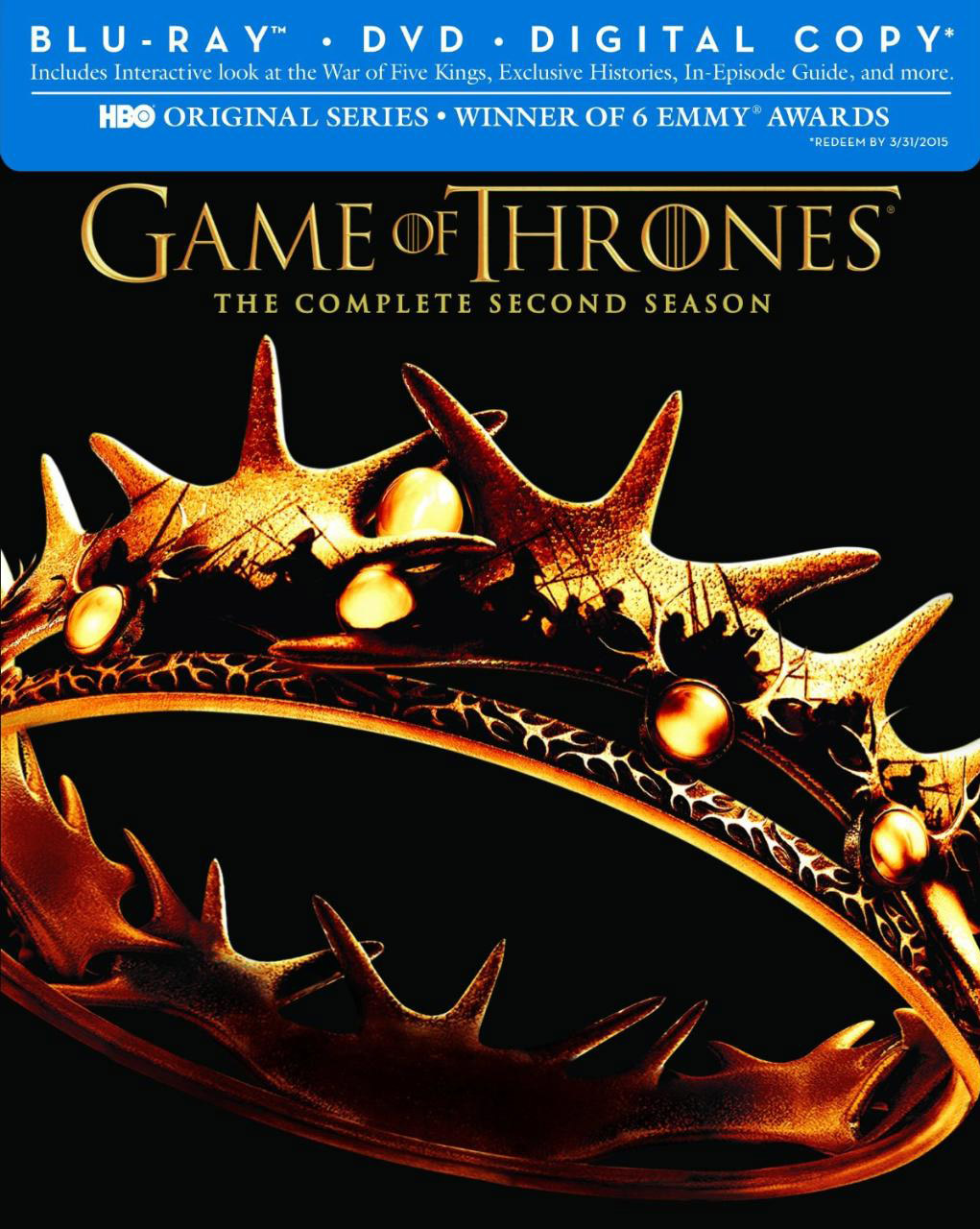 games of thrones season 2 now available on blu ray dvd. Black Bedroom Furniture Sets. Home Design Ideas