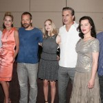 Lovelace NY Press Conference - Hank Azaria, Sharon Stone, Peter Sarsgaard, Amanda Seyfried, Chris Noth, Debi Mazar and Adam Brody