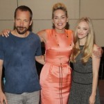 Lovelace NY Press Conference - Peter Sarsgaard, Sharon Stone, and Amanda Seyfried,