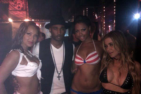 Black guy with old ladies orgys