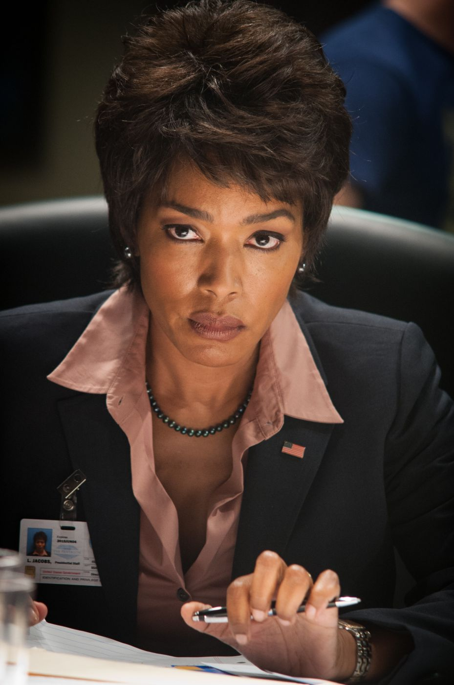 Angela Bassett Talks Olympus Has Fallen Black Nativity