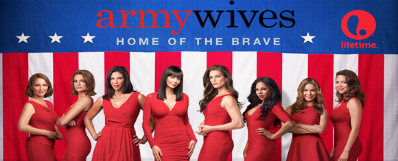 newest cast member to Lifetime TV's long-running series, Army Wives
