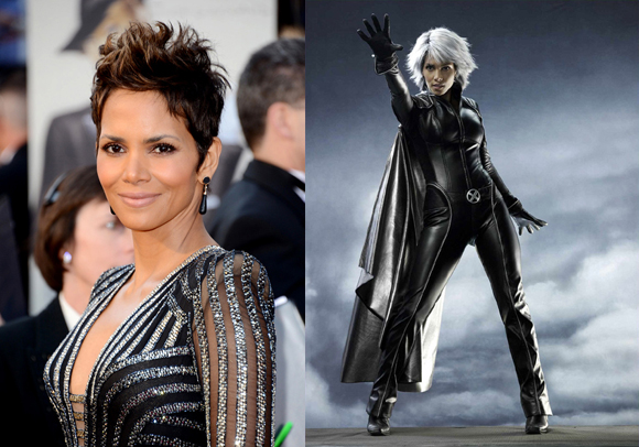 watch halle berry confirm her return as storm in x men days of while