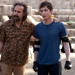 Percy Jackson Sea of Monsters 2 - Stanley Tucci and Logan Lerman