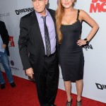 Scary Movie 5 premiere - Charlie Sheen and Lindsay Lohan