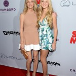 Scary Movie 5 premiere - Heather Locklear and Ava Sambora
