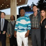Scary Movie 5 premiere - Producer David Zucker, Katt Williams, Mike Tyson, Simon Rex, and Ashley Tisdale