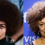 Angela Davis then and now