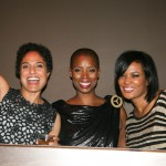 Free Angela director Shola Lynch, producer Sidra Smith, and DJ Beverly Bond