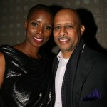 Free Angela producer Sidra Smith and Ruben Santiago-Hudson