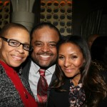 Terrie M. Williams, Roland Martin, and Marvet Britto