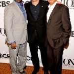 Tony Awards Meet Nominees - George C. Wolfe, Courtney B. Vance, and Tom Hanks