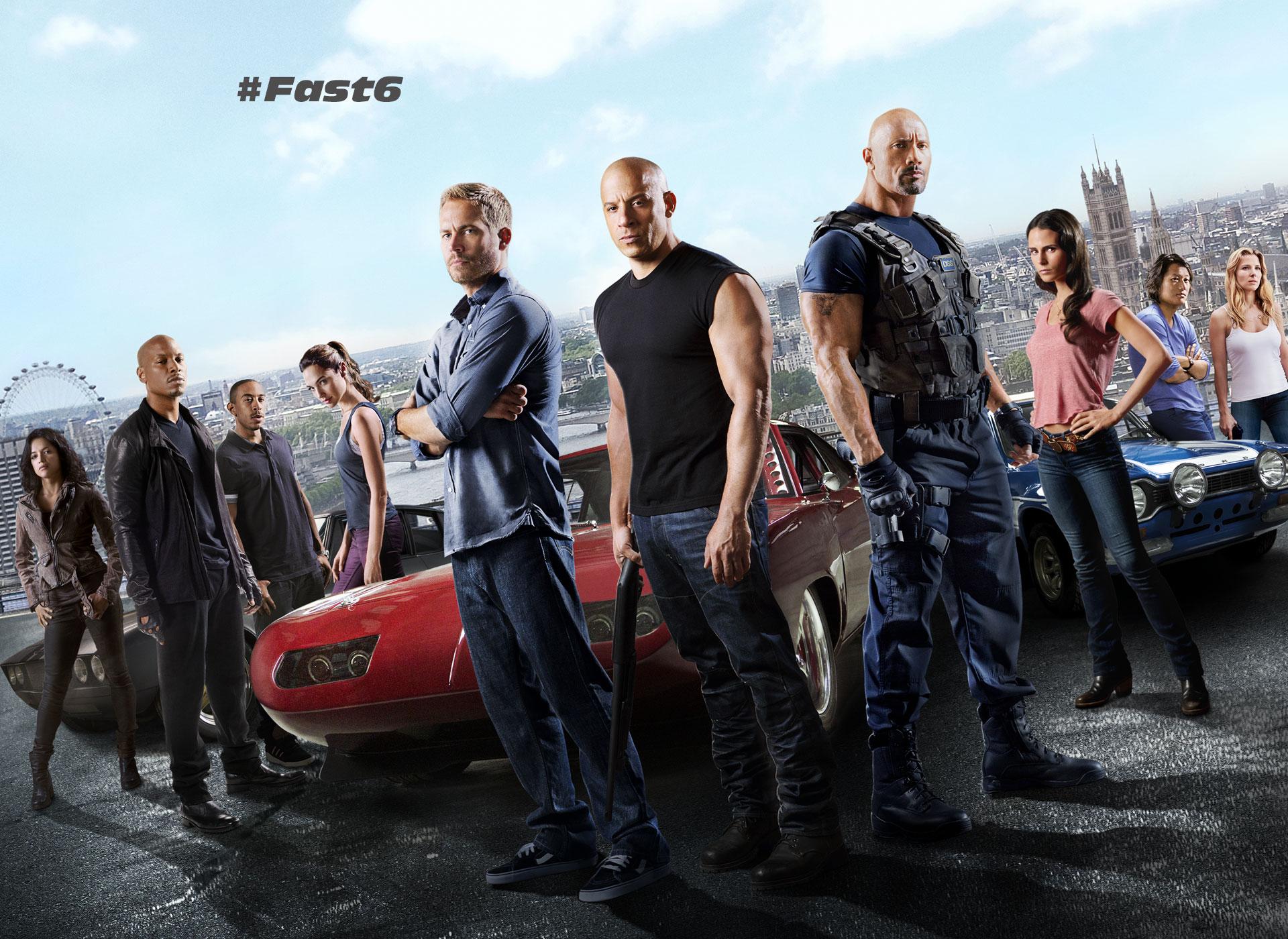 Fast & Furious 6 Kinox
