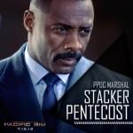 Pacific Rim poster - Idris Elba PPDC Marshal Stacker Pentecost